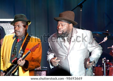LINCOLN, CA - MARCH 25: George Clinton performs at Thunder Valley Casino Resort in Lincoln, California on March 25, 2012
