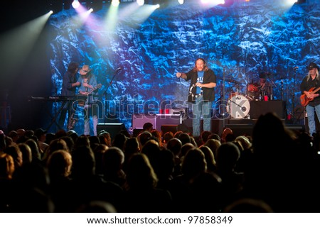 LINCOLN, CA - MARCH 16: Marshall Tucker Band performs at Thunder Valley Casino Resort in Lincoln, California on March 16, 2012