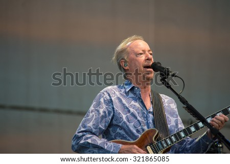LINCOLN, CA - September 25: Boz Skaggs performs on stage at Thunder Valley Casino Resort in in Lincoln, California on September 25, 2015 - stock photo