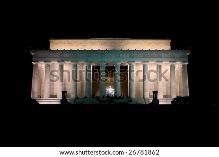 Lincoln Memorial - Night