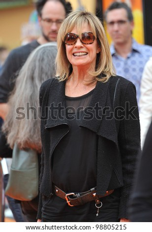 "Linda Gray at the world premiere of ""Dr. Suess' The Lorax"" at Universal Studios, Hollywood. February 19, 2012  Los Angeles, CA Picture: Paul Smith / Featureflash"