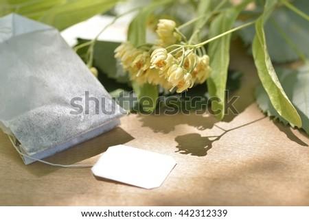 linden tea - stock photo
