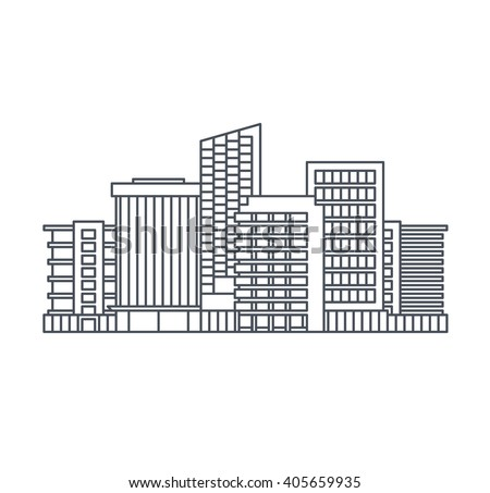 line china background of the city, cityscape collection, buildings china, - stock photo
