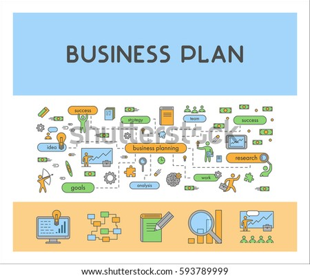 Online payment concept flat web design stock vector - Business plan for web design company ...