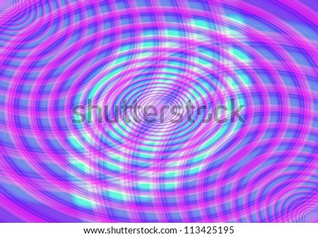 line of circle abstract background