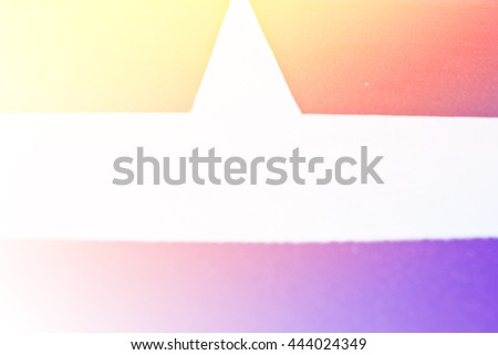 line on the tennis court with color filters - stock photo