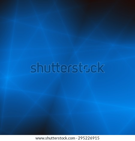 Line tech neon blue wallpaper pattern - stock photo