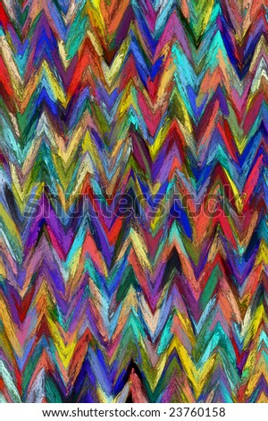 lined 3d texture in abstract painting style - stock photo