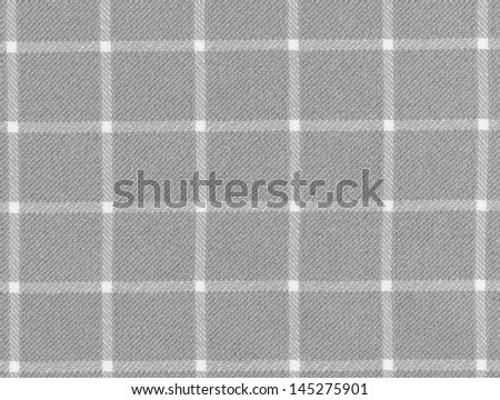 Lined grey and white dinner clothes - stock photo