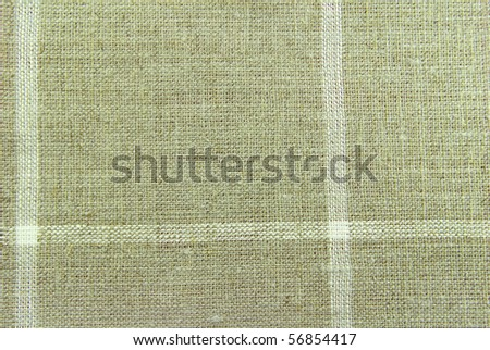 linen fabric - stock photo