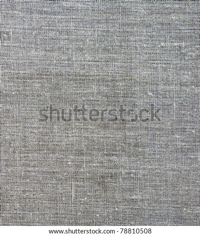 linen  for painting - stock photo