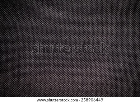 linen pattern texture of old canvas abstract background black color - stock photo