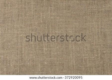 Linen tablecloth. - stock photo