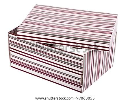 lines box - stock photo