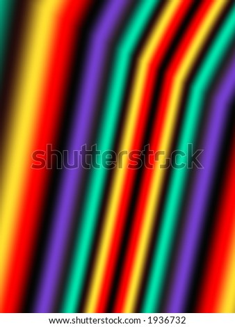 lines of reainbow