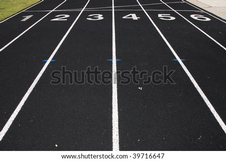 Lines on the track