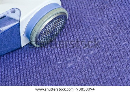 Lint remover/Wool shaver/refreshing a sweater