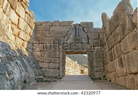 Lion Gate at Mycenae
