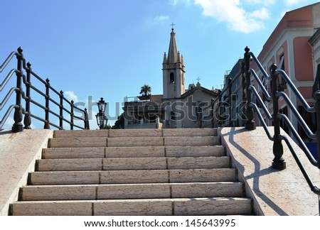Lipari, Sicily - stock photo