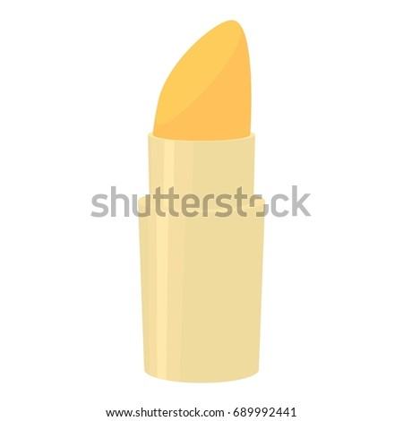 Lipstick icon. Cartoon illustration of lipstick  icon for web isolated on white background