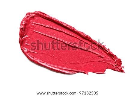 Lipstick Smear Stock Photo 97132514 - Shutterstock