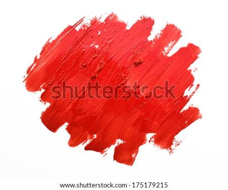 lipsticks background - stock photo