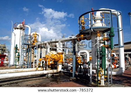 Liquid Gas Distribution Center Bontang, East Borneo, Kalimantan, Indonesia, Asia