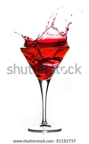 liquor cup - stock photo