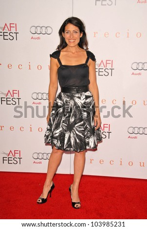 Lisa Edelstein  at the AFI Fest Premiere of 'Precious,' Chinese Theater, Hollywood, CA. 11-01-09