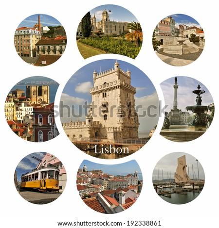 Lisboa. Lisbon - capital of Portugal - stock photo