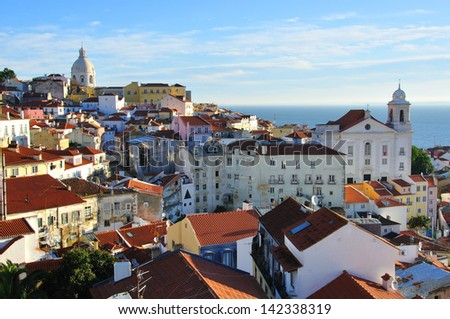 Lisbon Almafa  - stock photo