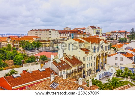 Lisbon city view, Portugal