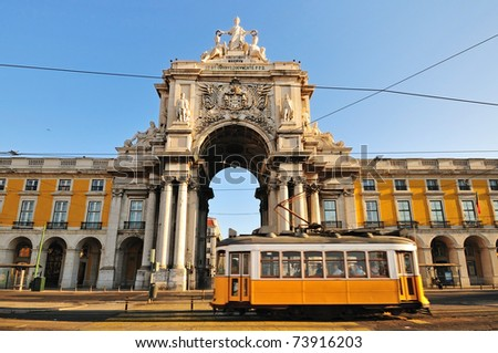 Lisbon, Portugal - stock photo