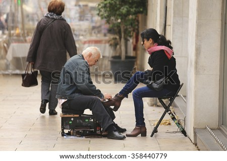 Shoeshine Stock Images, Royalty-Free Images & Vectors ...