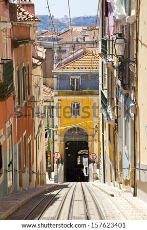 Lisbon, the capital of Portugal - stock photo
