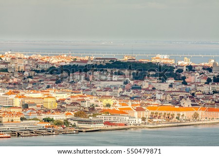 Lisbon View from Above