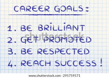 a discussion on reaching career goals and successful job search Network with other students to help ensure academic success  we're willing to  work hard to reach goals we really care about, but we're likely to give up when.