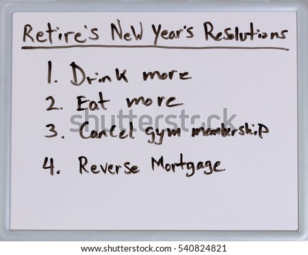 List of New Year resolutions for retirees