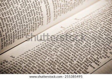 list of scripture references to god in a bible