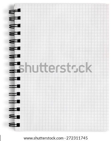 List, pad, write. - stock photo