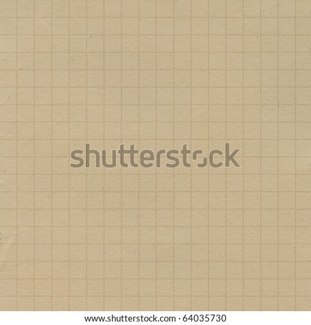 List school notebook as background - stock photo