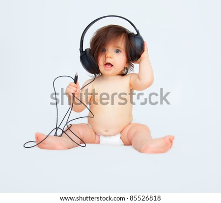 listening - stock photo
