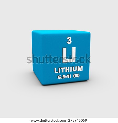 Lithium - stock photo