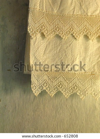 Lithuanian traditional towel - stock photo