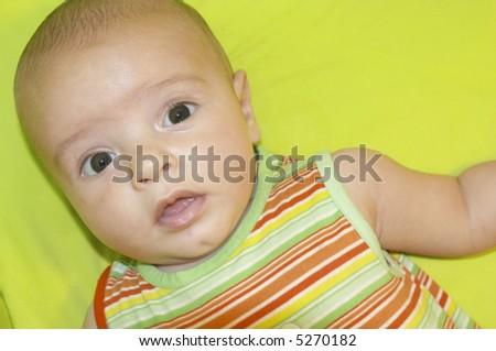 Little baby - stock photo