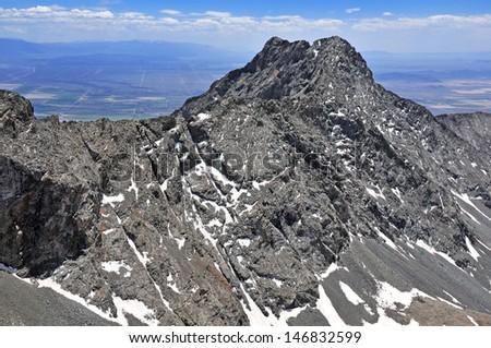 Little Bear Peak, Rocky Mountains, Colorado - stock photo
