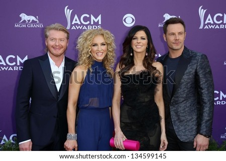 Little Big Town at the 48th Annual Academy Of Country Music Awards Arrivals, MGM Grand Garden Arena, Las Vegas, NV 04-07-13