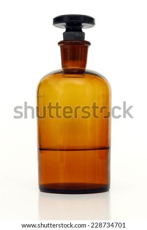 little bottle - stock photo