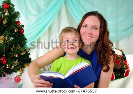 little boy and his mom have fun spending time together.