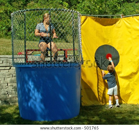 Dunk Tank Stock Images, Royalty-Free Images & Vectors | Shutterstock